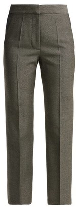 Stella McCartney Cropped Trousers - Womens - Grey