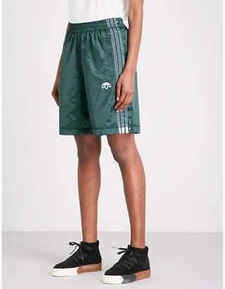 Alexander Wang Adidas X Adibreak satin shorts