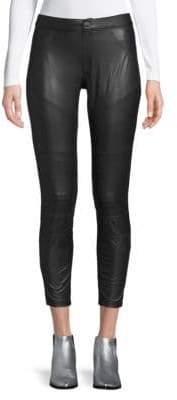 Hue Moto Leatherette Leggings