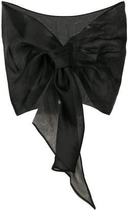 Chiara Boni Le Petite Robe Di シアー スカーフ