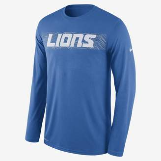 Nike Dri-FIT Legend Seismic (NFL Lions) Men's Long Sleeve T-Shirt