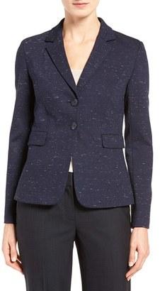 Women's Classiques Entier Ponte Suit Jacket $329 thestylecure.com