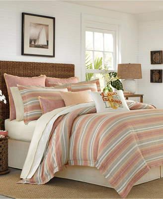 Tommy Bahama Home Sunrise Stripe California King Comforter Set