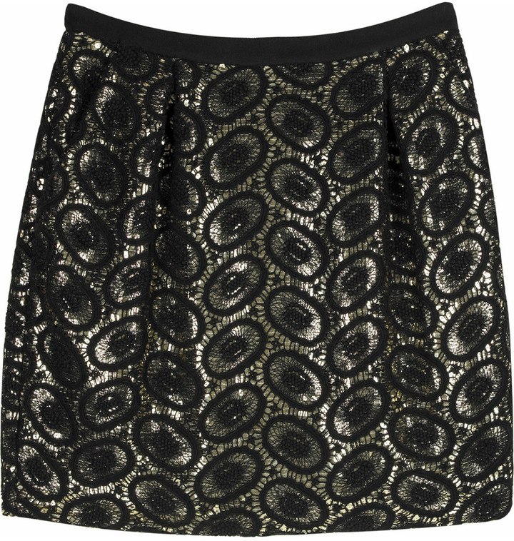 3.1 Phillip Lim Lace bubble skirt