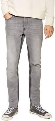 Topman Slim Fit Panel Jeans
