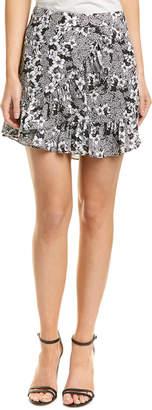 Parker Floral Wrap Skirt