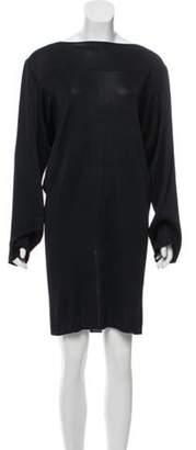 Alaà ̄a Knit Dolman Sleeve Dress Black Alaà ̄a Knit Dolman Sleeve Dress