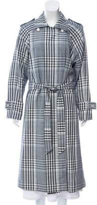 Temperley London Plaid Long Coat