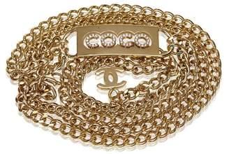 Chanel Vintage Gold-Tone Chain Belt