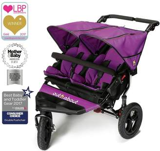N. Out About Nipper Double V4 Pushchair