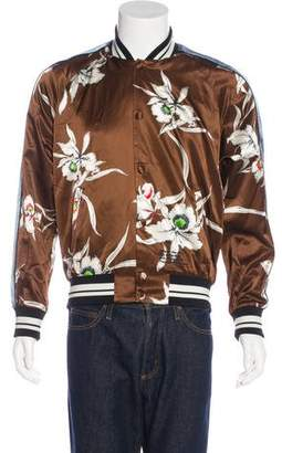 Valentino 2016 Floral Haiku Souvenir Jacket