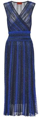 Missoni Knitted silk-blend midi dress