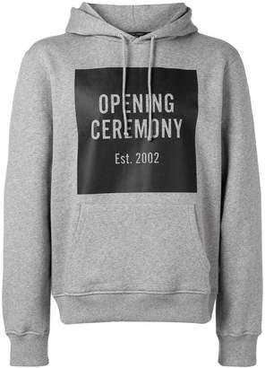 Opening Ceremony logo print hoodie