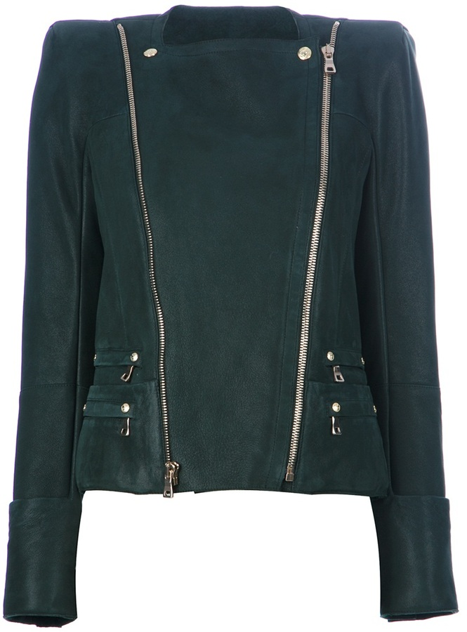 Balmain Double zip up jacket