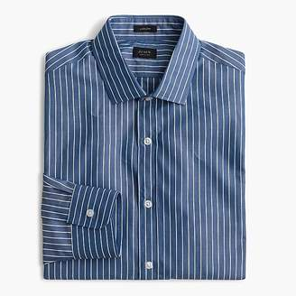 J.Crew Ludlow Slim-fit shirt in blue and white stripe