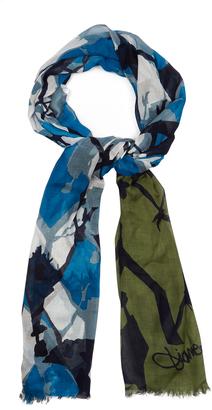 DIANE VON FURSTENBERG Hanovar scarf $148 thestylecure.com