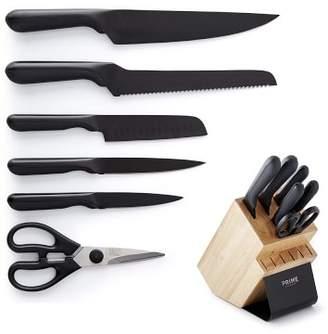 Williams-Sonoma Williams Sonoma Chicago Cutlery PRIME 7-Piece Block Set, Black Oxide