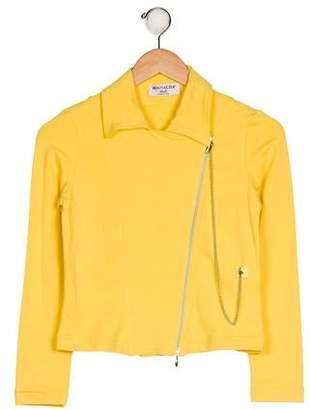 MonnaLisa Girls' Asymmetrical Jacket