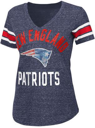 64a43ed29 G-iii Sports Women New England Patriots Big Game Rhinestone T-Shirt