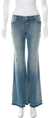 Michael Kors Low-Rise Flared Jeans