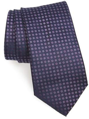 John Varvatos Dot Silk Tie