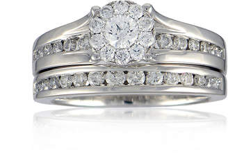FINE JEWELRY LIMITED QUANTITIES 1 CT. T.W. Diamond 14K White Gold Bridal Ring Set