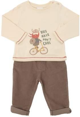 Knot Viking Jersey T-shirt & Corduroy Pants