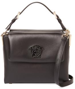VersacePalazzo Small Leather Satchel