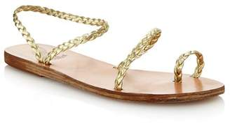 Ancient Greek Sandals Women's Eleftheria Braided Slip-On Sandals