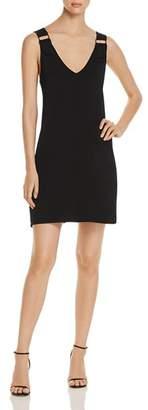 Lysse Halsey Embellished Double V-Neck Dress