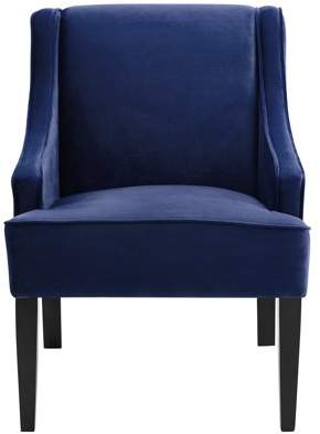 At Walmart.com · Mainstays Swoop Arm Chair With Wood Legs, Multiple Colors