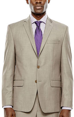 COLLECTION Collection by Michael Strahan Taupe Suit Jacket - Classic Fit