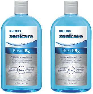 Philips Sonicare BreathRX DIS364 Mouthwash 2-Pack
