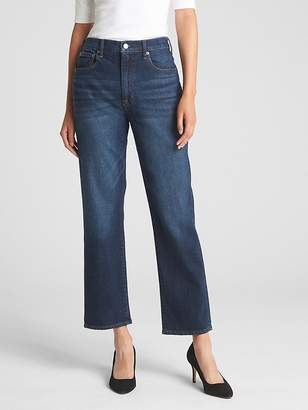 Gap High Rise Wide-Straight Jeans