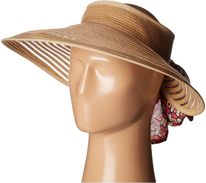 Echo Design - Color Block Visor Sun Hat Caps