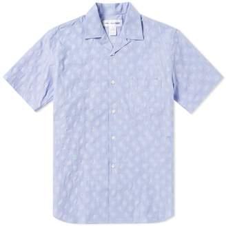 Comme des Garcons Short Sleeve Dot Vacation Shirt