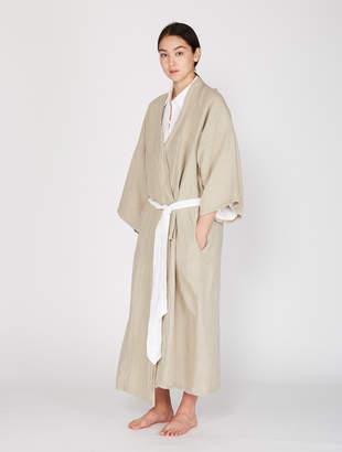 02 Full Length Linen Robe