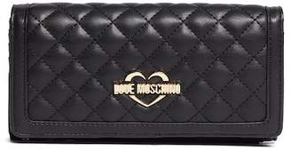 Love Moschino Large Quilted Wallet