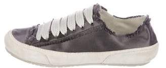 Pedro Garcia Satin Low-Top Sneakers
