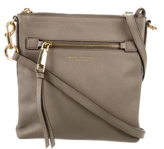 Marc Jacobs Leather Crossbody Bag Grey Leather Crossbody Bag