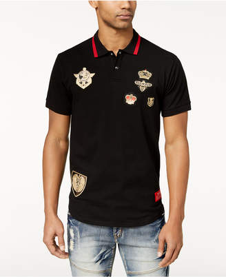 Reason Men's Richmond Embroidered-Patch Polo