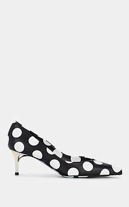 Maison Margiela Women's Polka Dot Leather Pumps