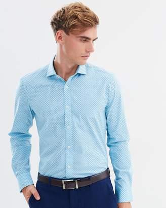 Brooksfield Luxe Dot Print Shirt