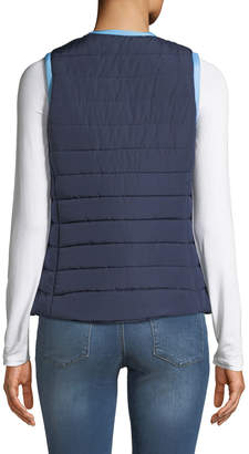 Sail To Sable Short Quilted Puffer Vest