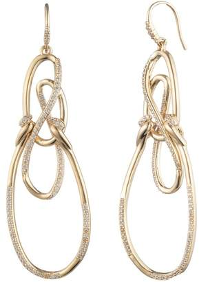 Carolee After the Party Twisted Drama Earrings