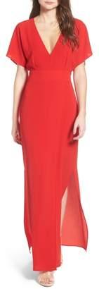 WAYF Carrara Slit Maxi Dress