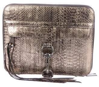Rebecca Minkoff Embossed Leather Ipad Case
