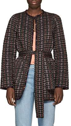 Ace&Jig Women's Reversible Geometric-Pattern Cotton Jacket
