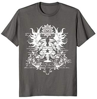 All Seeing Eye Gothic Spell T-Shirt Gift