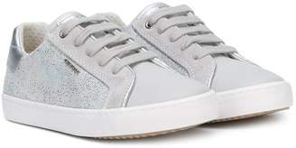 Geox metallic detail sneakers